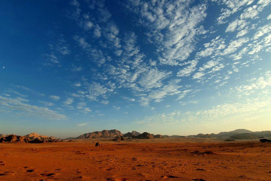 Lustrumreis bestemmingen Jordanië Wadi Rum