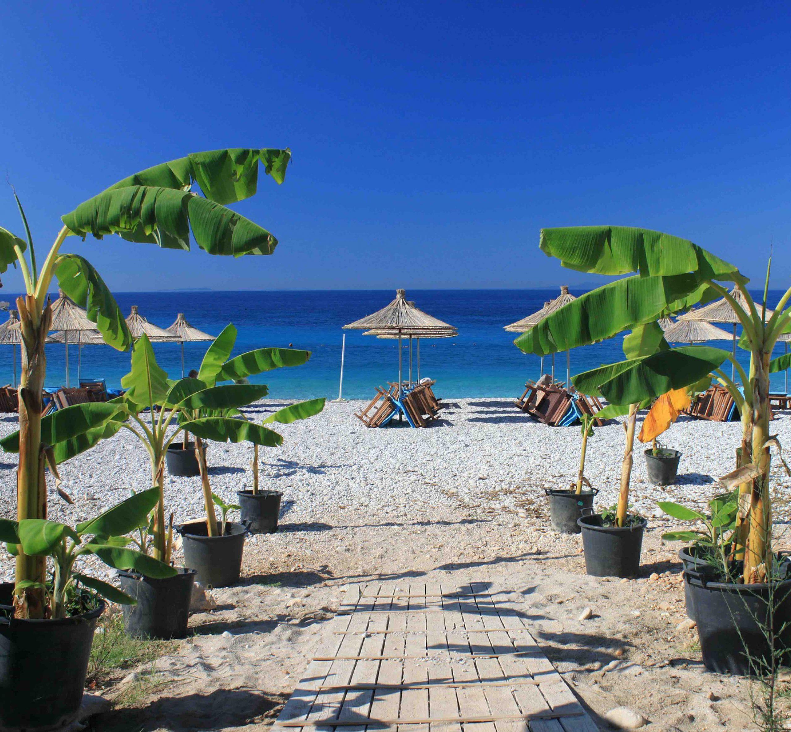 Lustrumreis Albanië naar Dhermi Beach