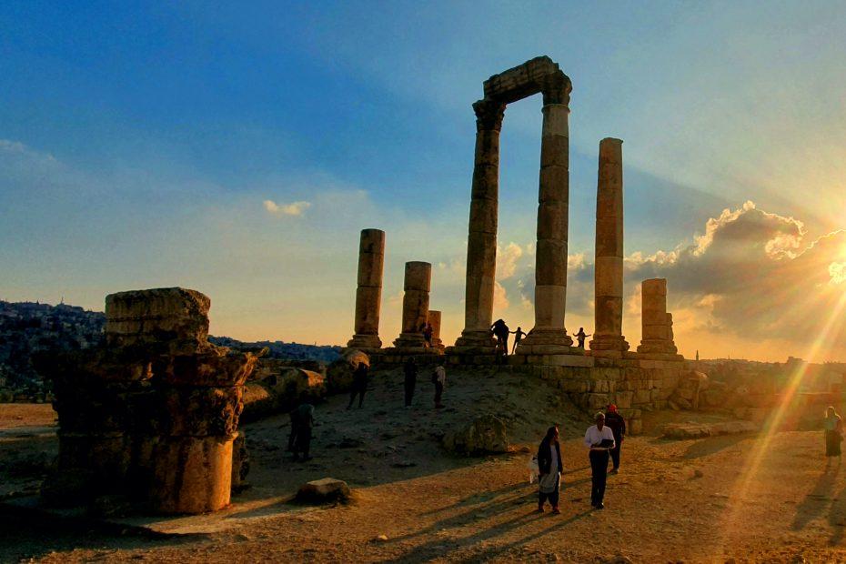 Betoverende ruïnes tijdens je lustrumreis in Jordanië