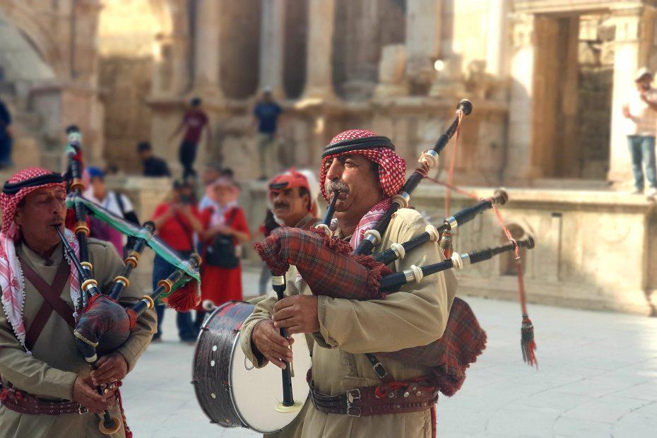 Authentieke cultuur in Jordanië