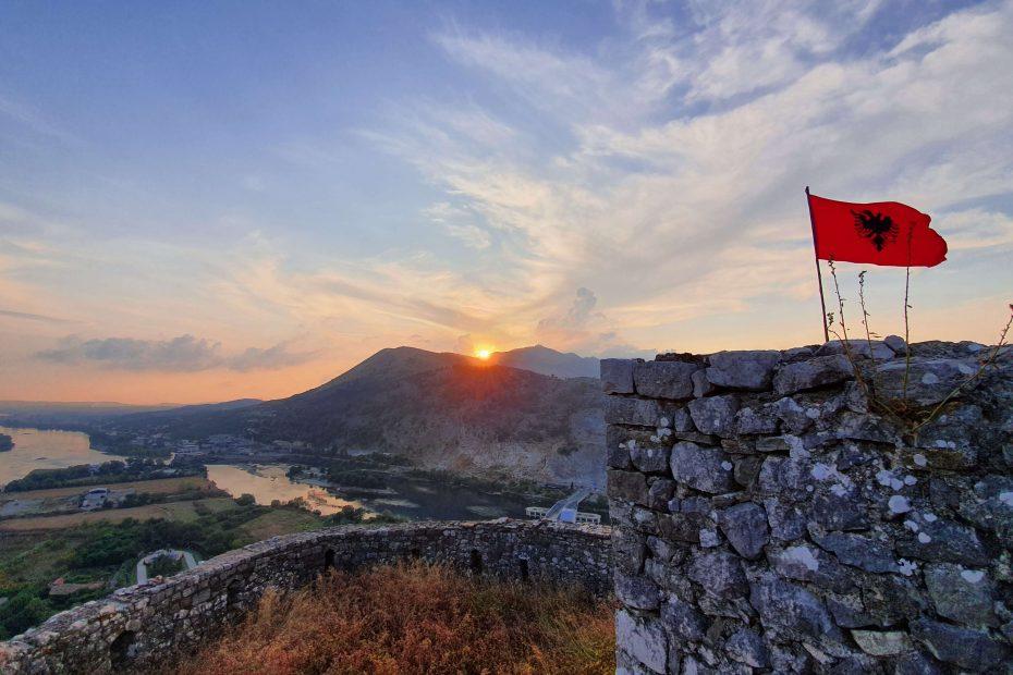 Lustrumreis Albanië Shkoder Kasteel 1