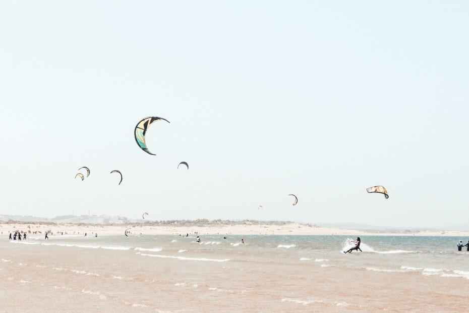 Kite surf marokko lustrumguru lustrumreis