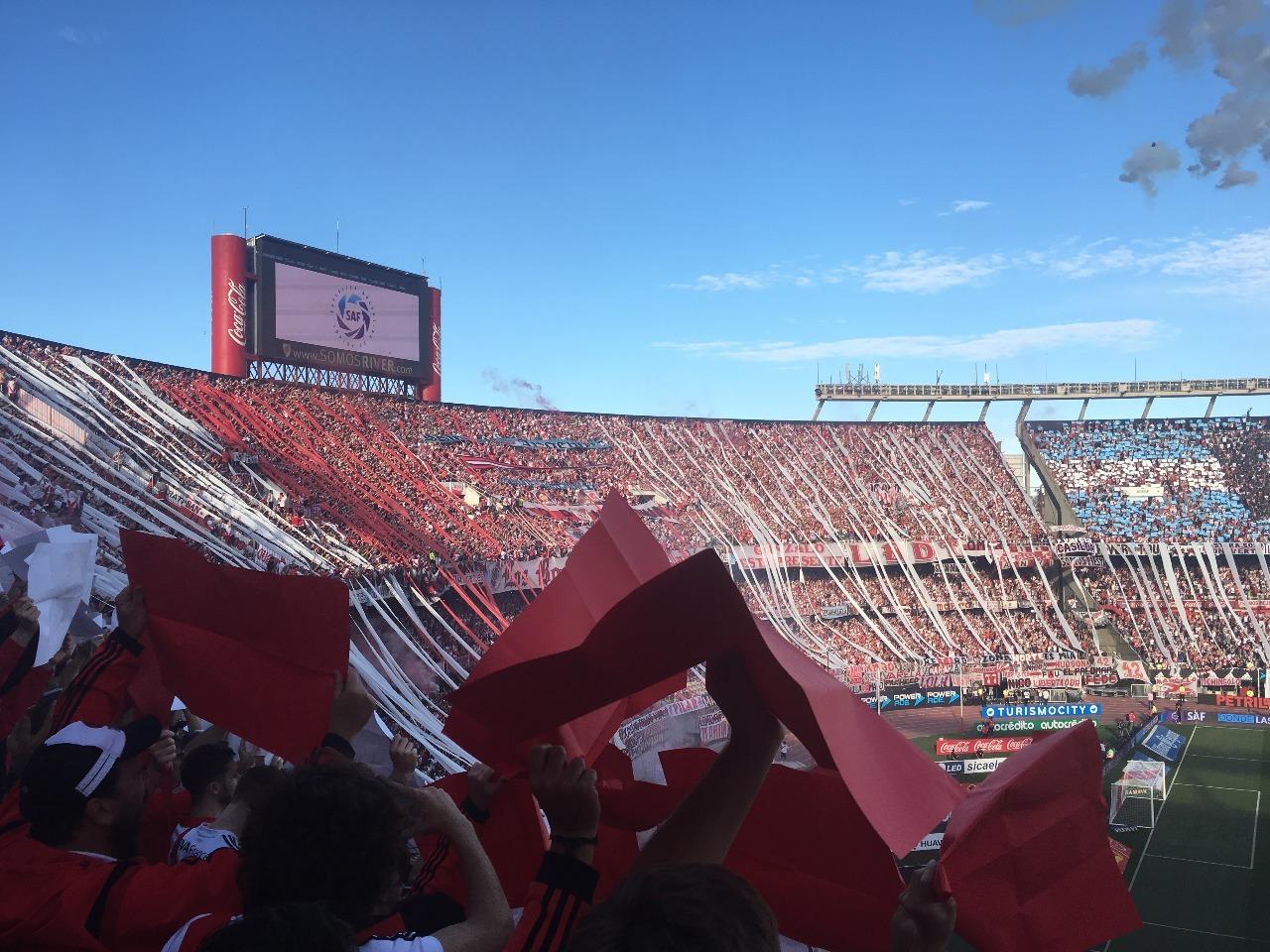 Lustrumreis Argentinie Voetbalwedstrijd